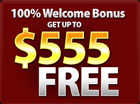 $555 sign-up Bonus